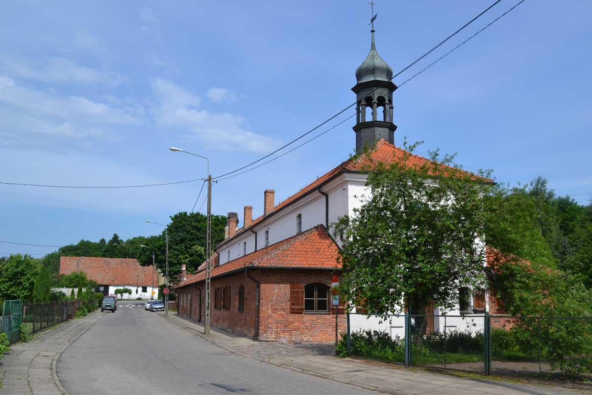 Das Heiligen Geist Hospital in Frombork
