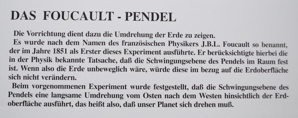 Foucault Pendel