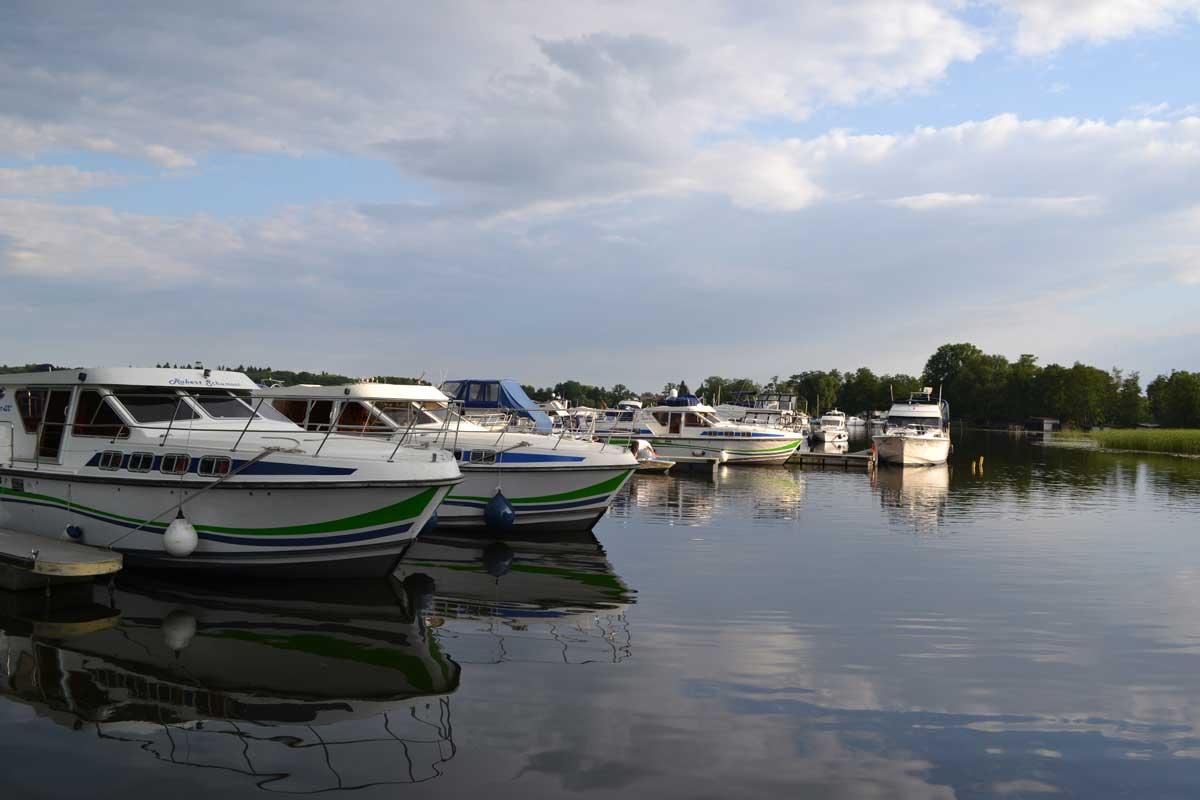 Yachthafen in Fürstenberg