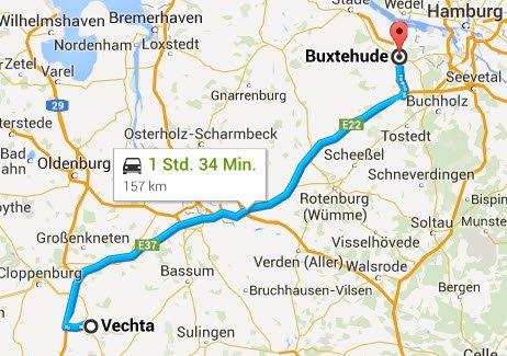 Vechta - Buxtehude