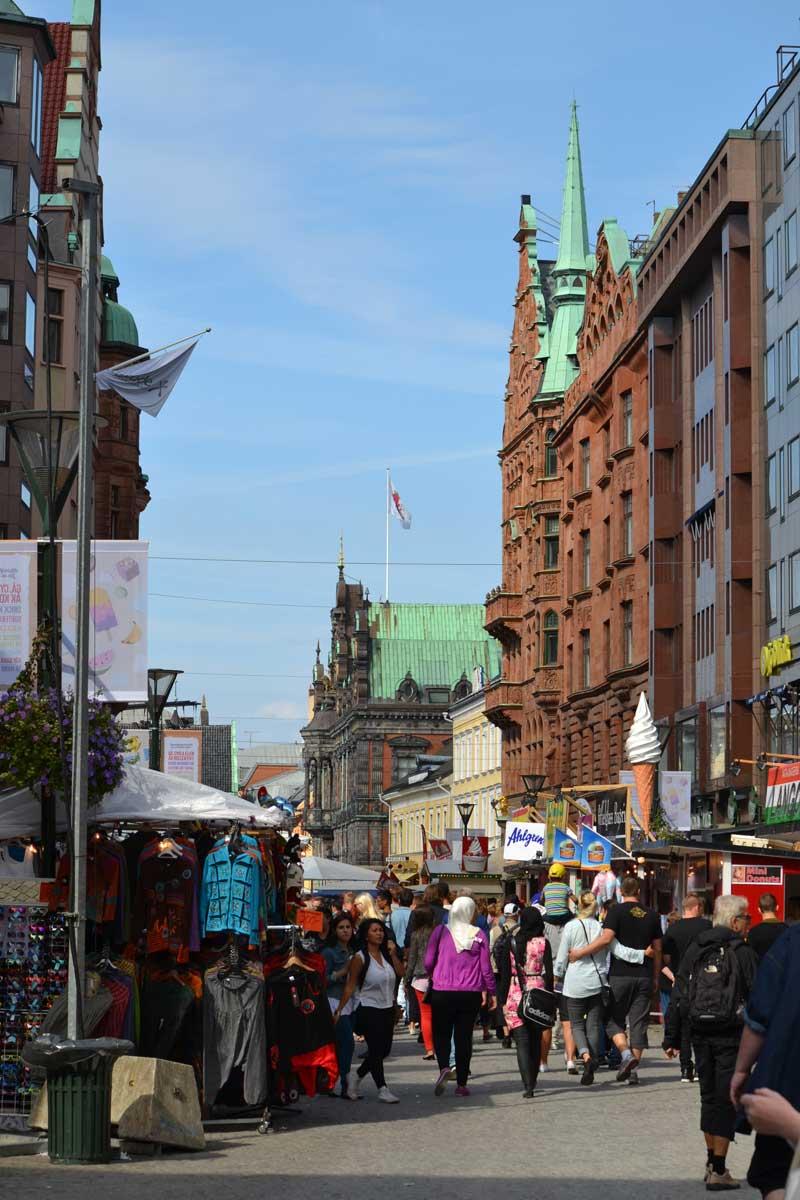 Festivalgedränge in Malmö