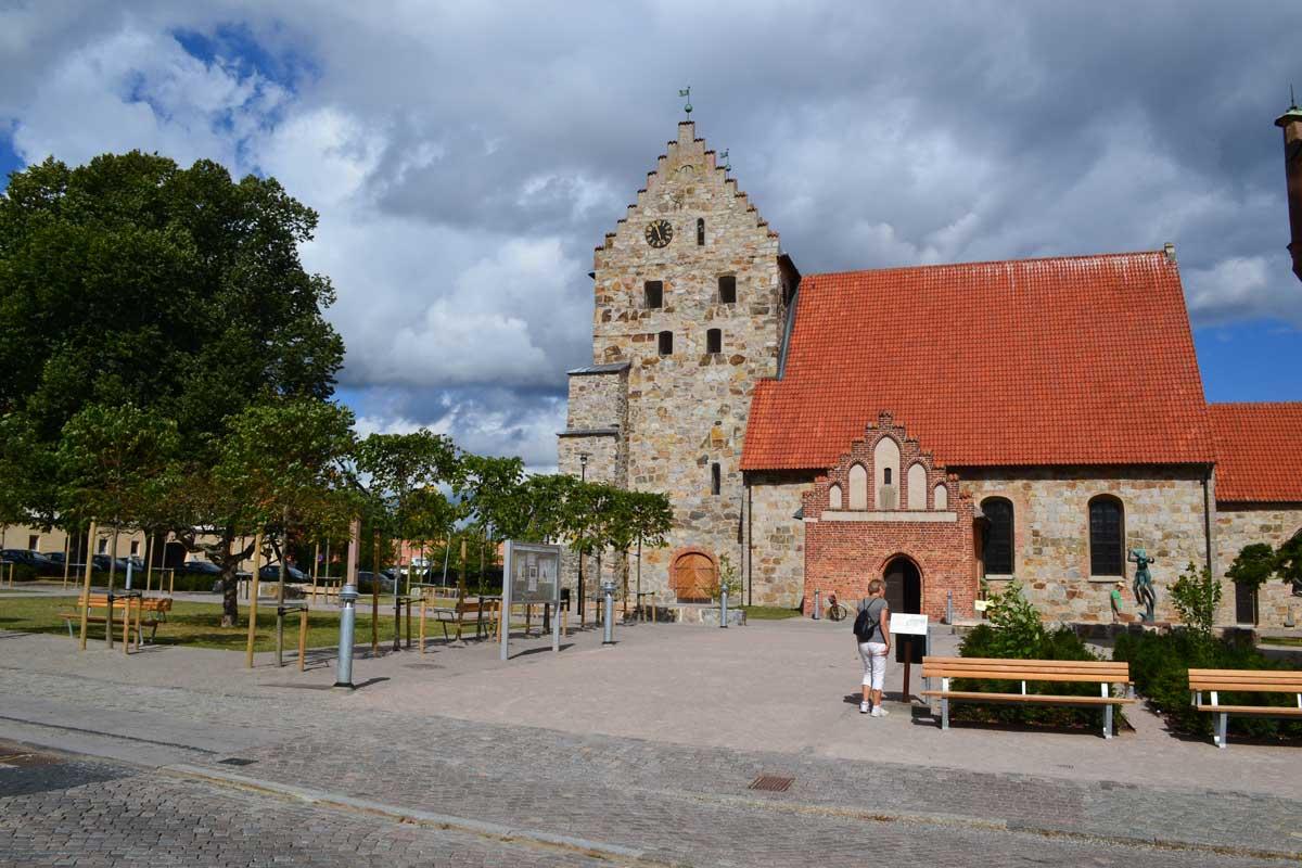 Die Nikolaikirche in Simrishamn