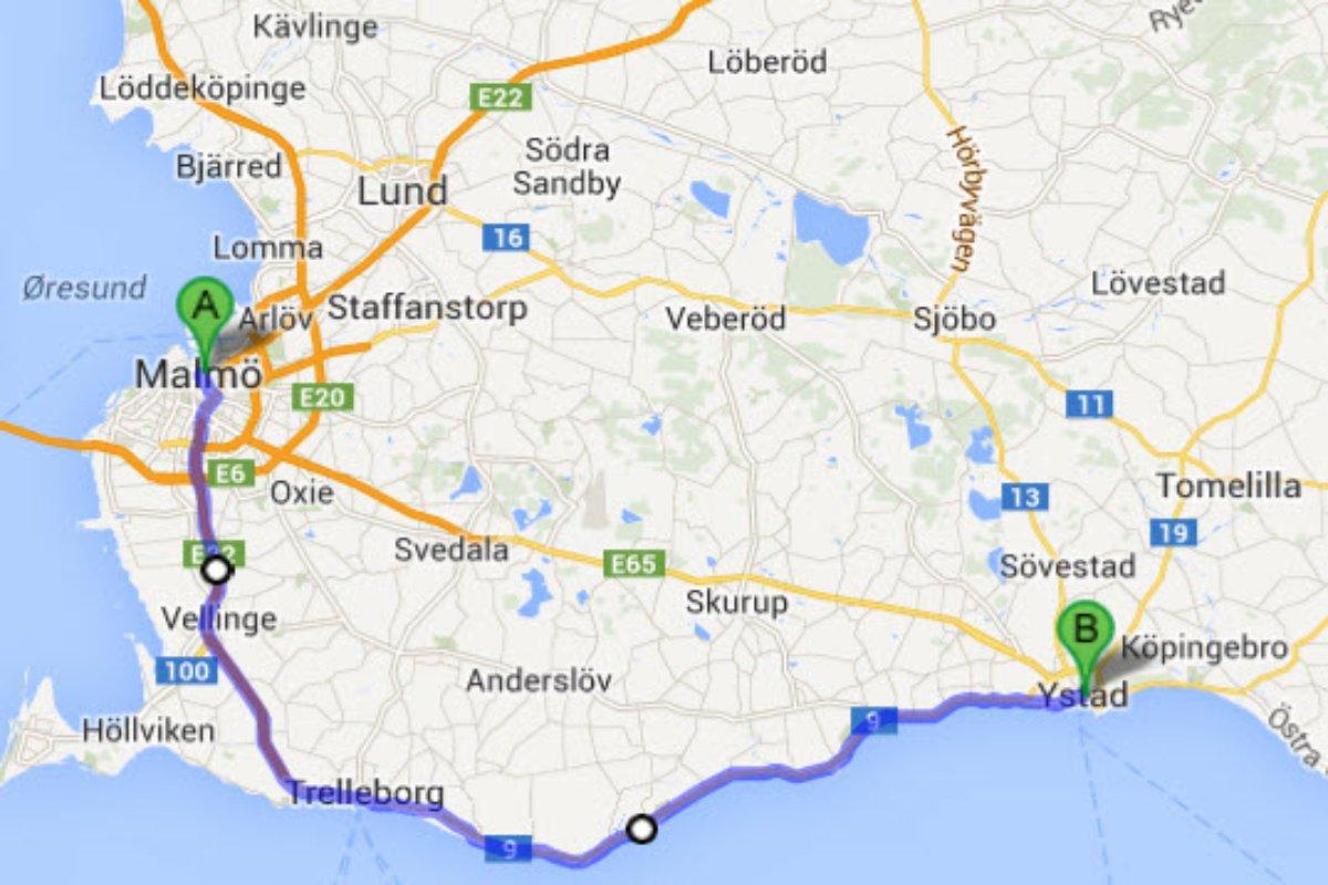 Malmö - Ystad
