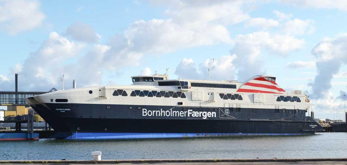 Die schnelle Bornholm Fähre