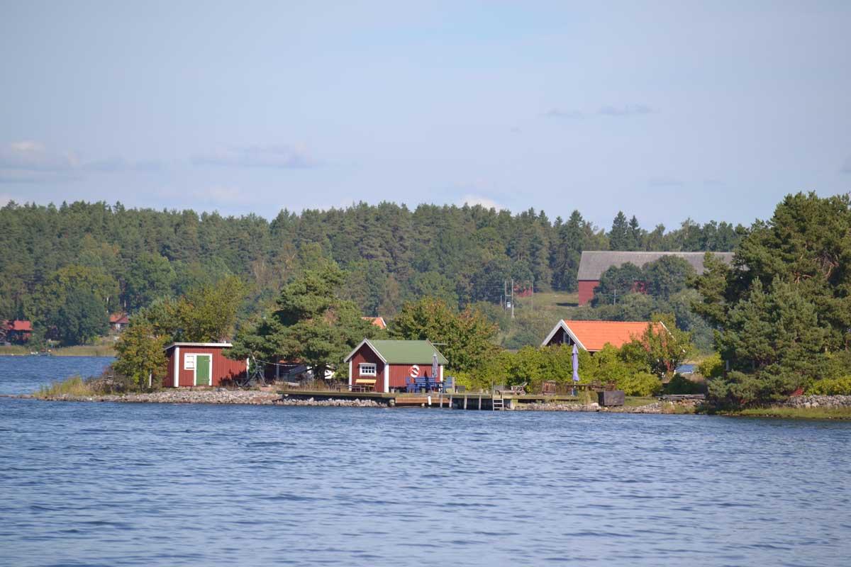 Die Schärenlandschaft um Västervik