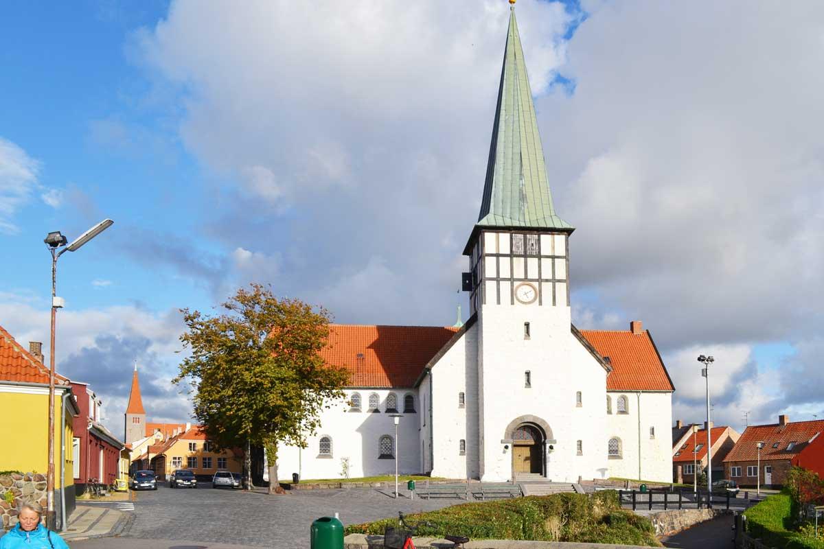 Hauptkirche in Rönne