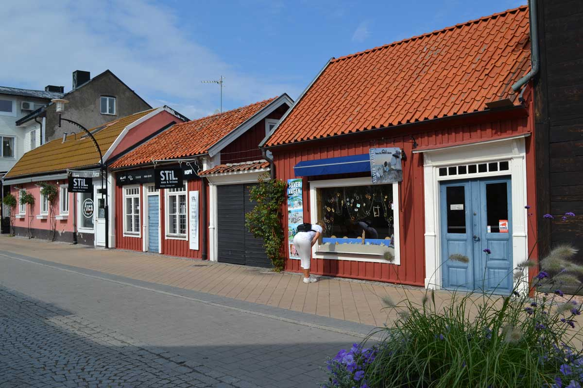 Ladengeschäfte in Borgholm