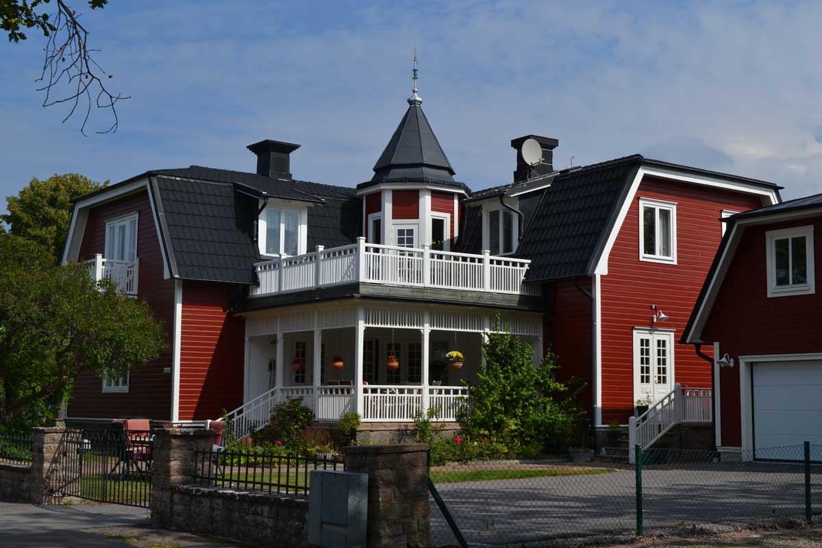 Schönes Holzhaus in Borgholm