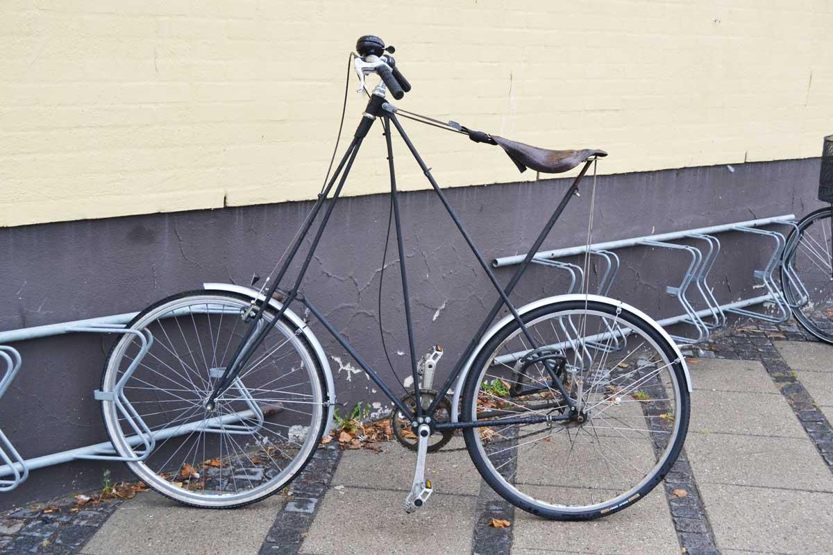 Setsames Fahrrad, gesehen in Nexö
