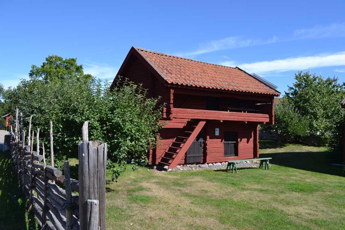 Traditionelles Kleinbauernhaus im Freiluftmuseum