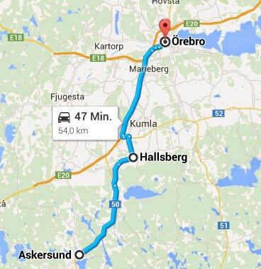 Askersund - Örebro