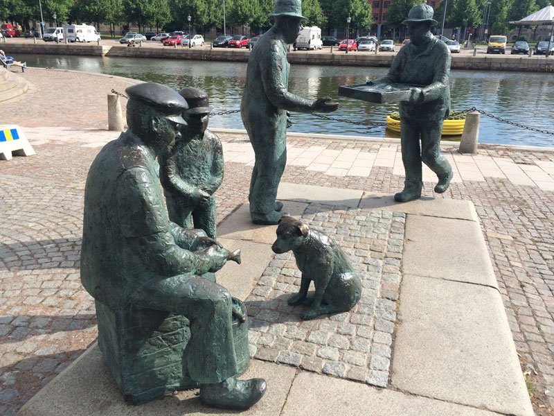 Fischhandeldenkmal in Göteborg