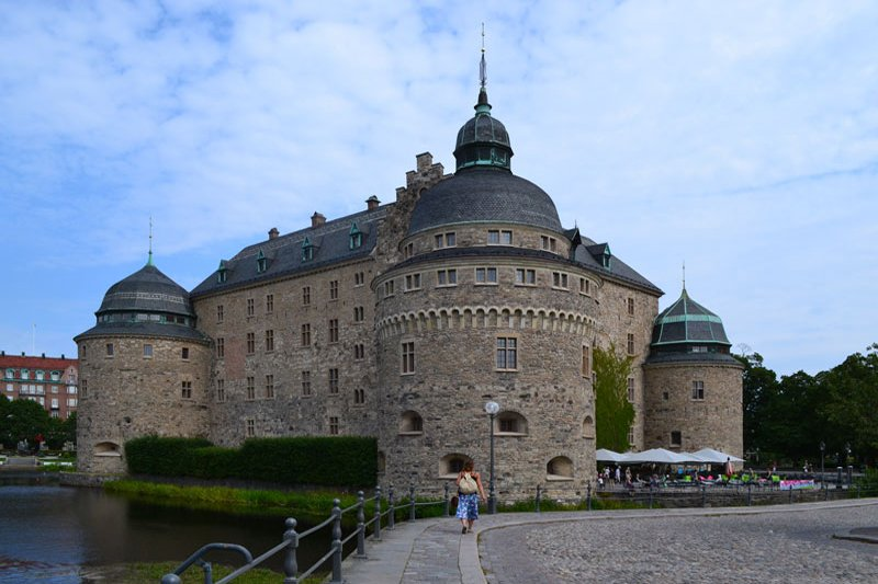 Örebro Schloss, direkt im Zentrum