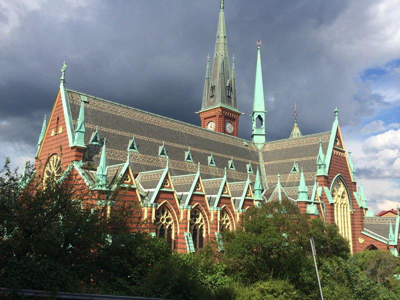 Oskar Fredrik Kirche in Göteborg
