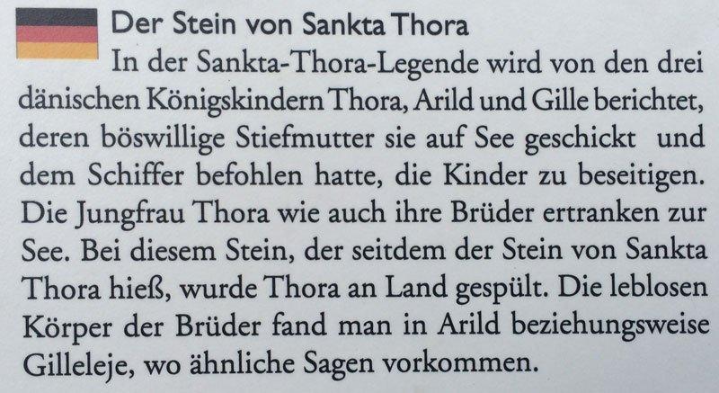 Sankta Thora Legende