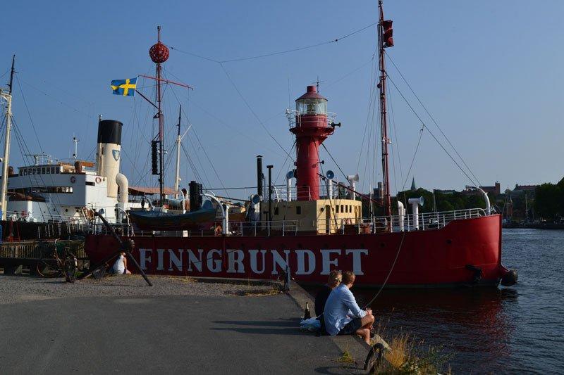 Feuerschiff im Museumshafen