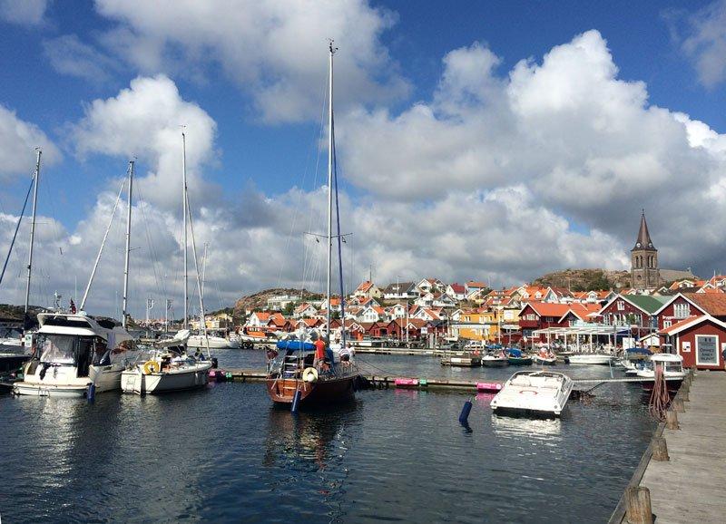 Grebbestad Hafen