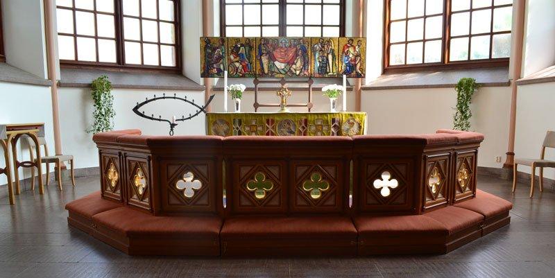 Schöner Altar