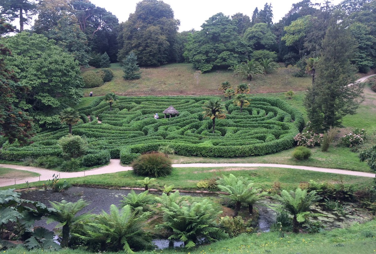 Glendurgan Labyrinth