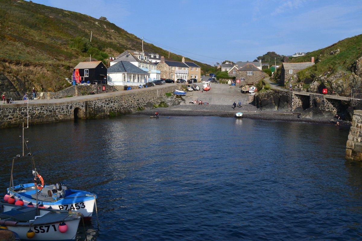 Mullion Cove Hafen