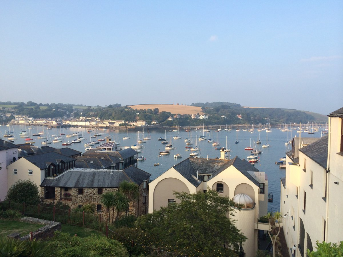 Victoria Quay and Falmouth-Harbour