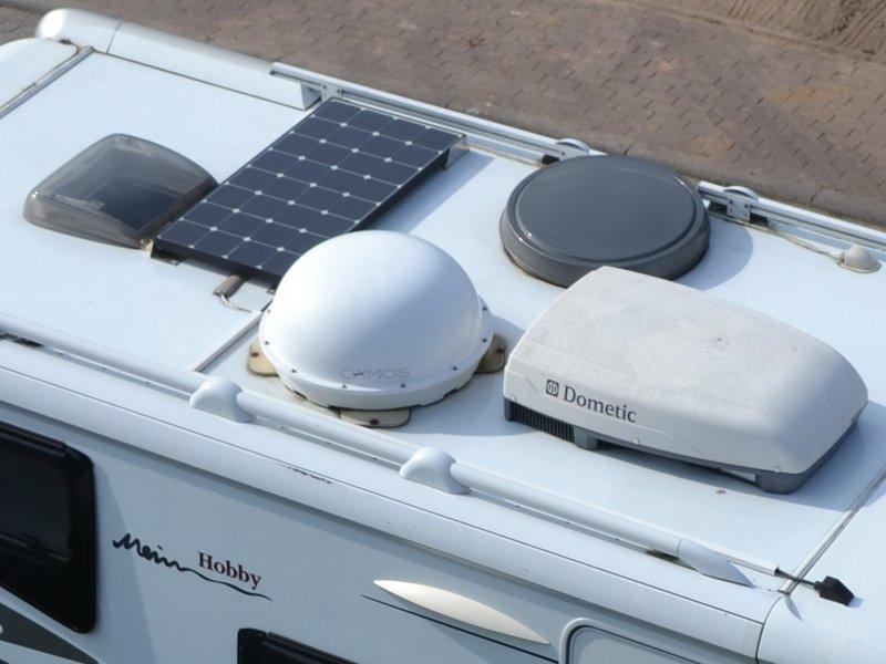 100W Solaranlage