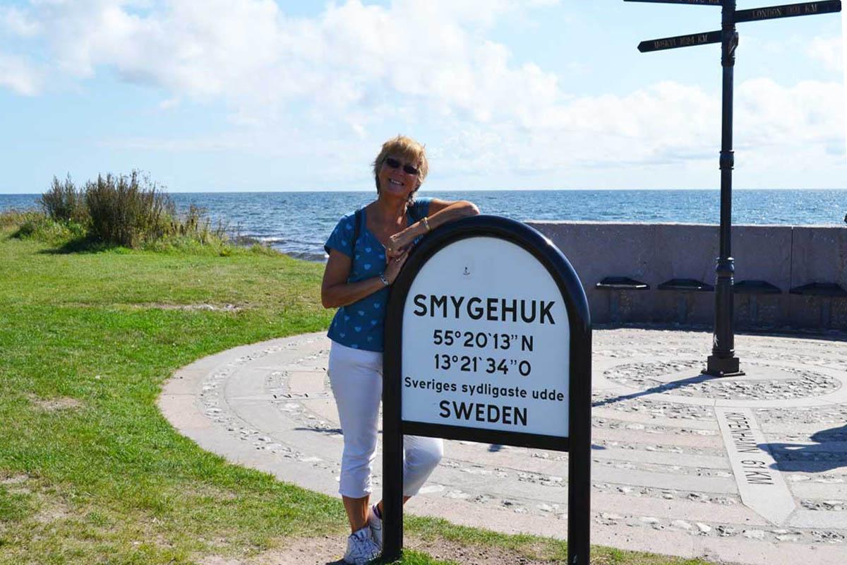 Am südlichsten Punkt Schwedens