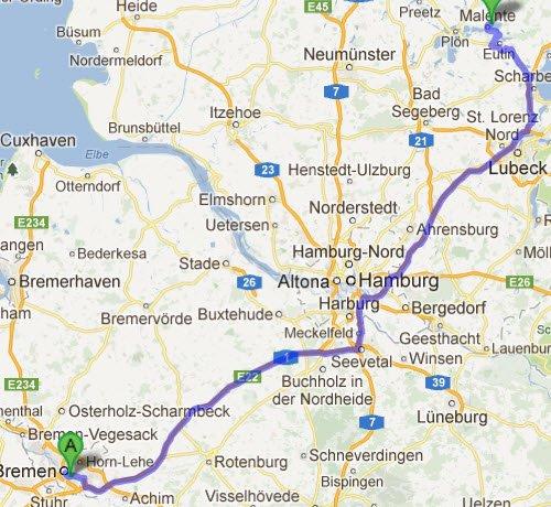 Bremen - Malente