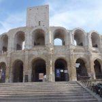 Das gut erhaltenen Amphitheater in Arles