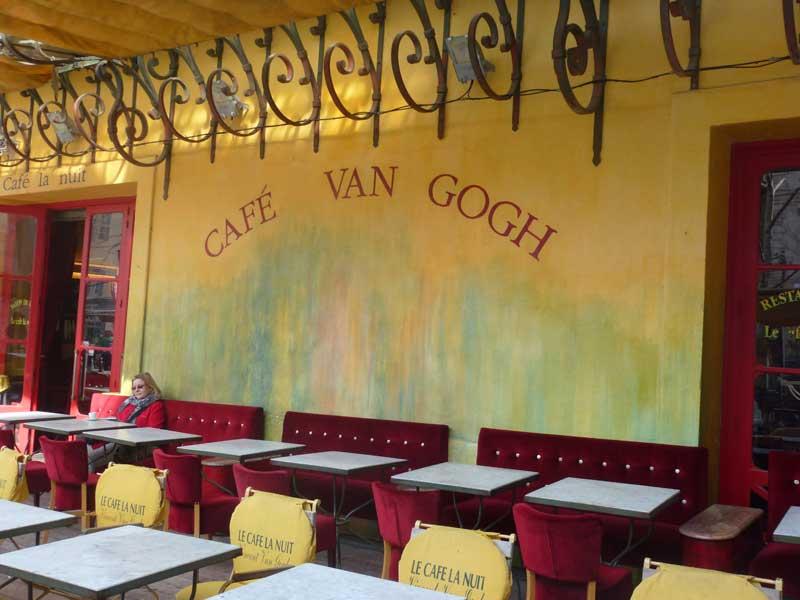 Das Café van Gogh in Arles