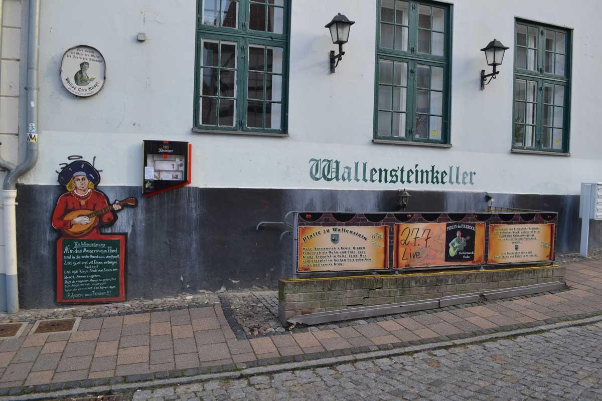 Das Wallenstein Restaurant
