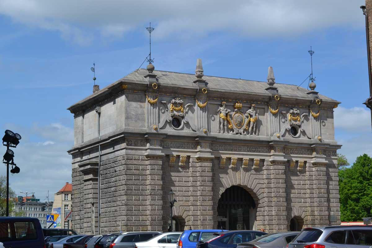 Das prächtige Gebäude der Danziger Touristeninformation