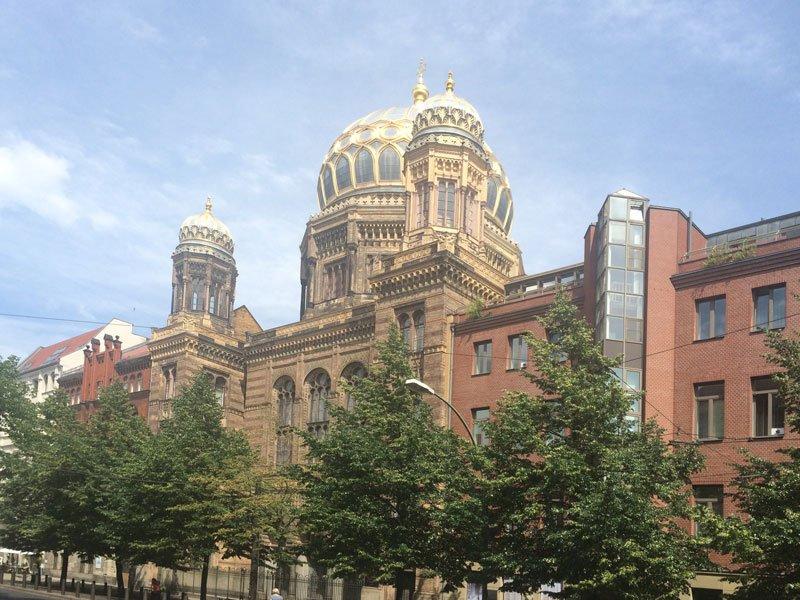 Die frühere jüdische Synagoge im Hackeschen Viertel
