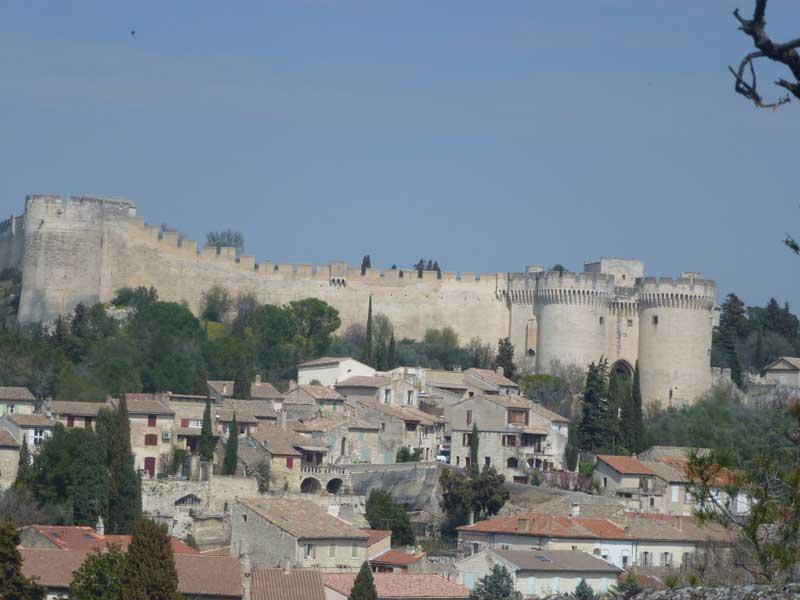 Festung in Villeneuve les Avignon