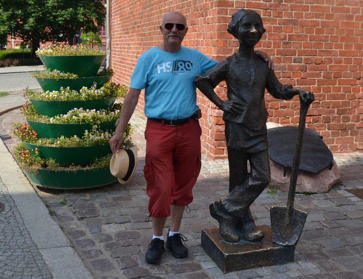 Frederick mit Bäckerlehrling Stary Rynek