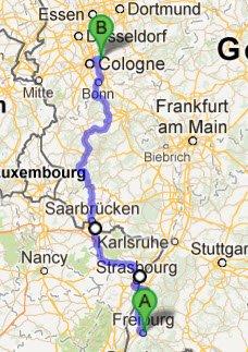 Freiburg - Bergisch-Gladbach