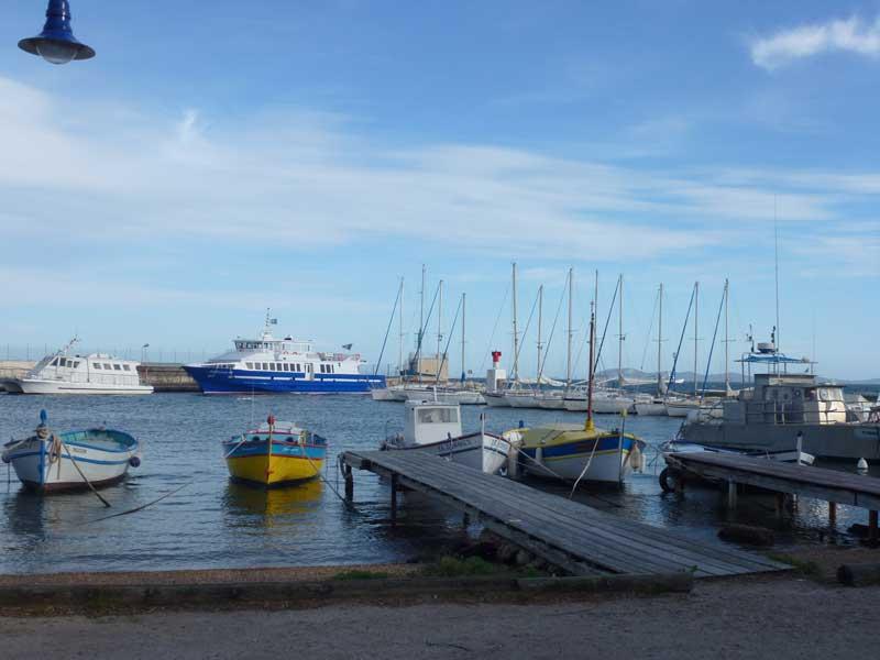 Hafen von Les Salins D'Hyères