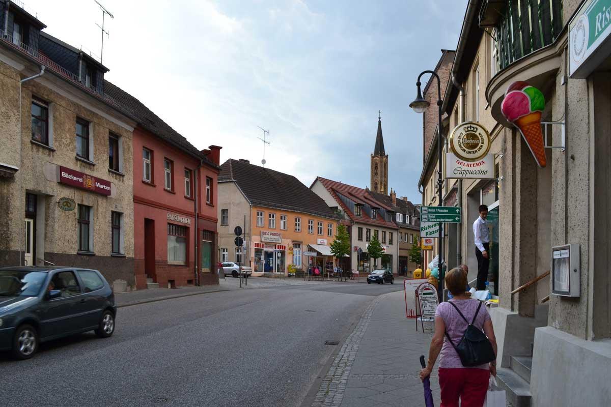 Die umstrittene B96 in Fürstenberg