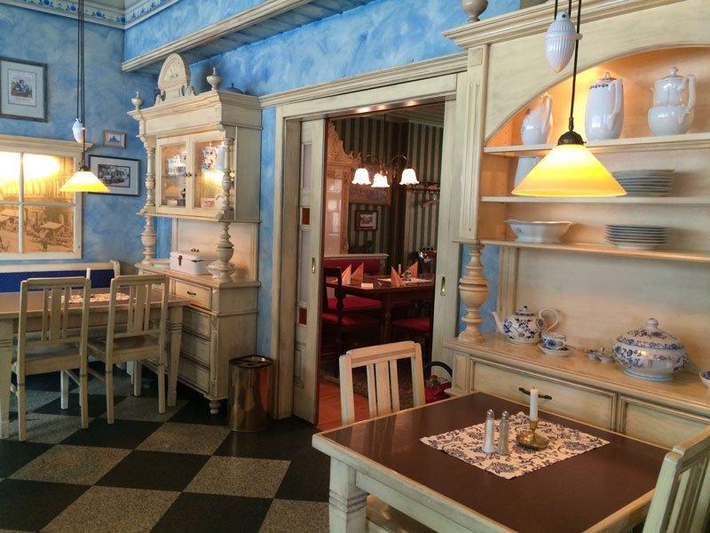 Jule Hoppes Restaurant im neuen Nikolaiviertel