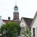 Leer Rathausturm und Altstadt-2