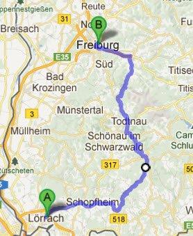 Lörrach - Freiburg