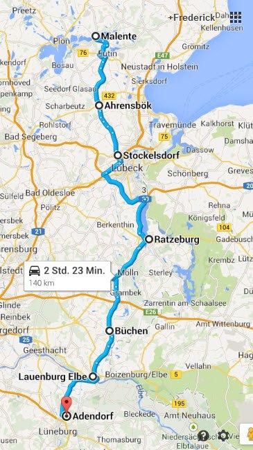 Malente - Lüneburg