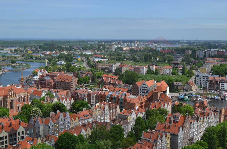 Panoramaaufnahme vom Turm der Marienkirche-4