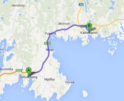 Sölvesborg - Karlshamn