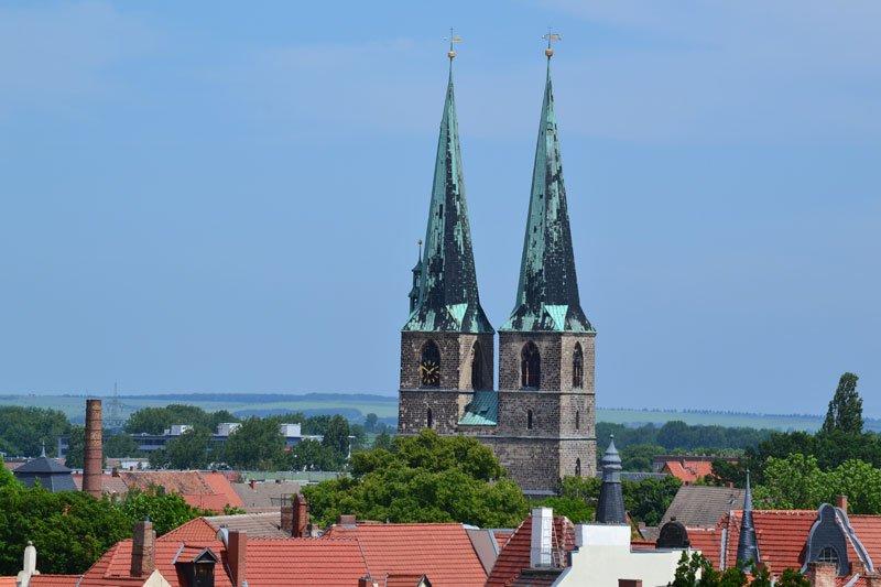 Panorama mit St. Nikolai Kirche