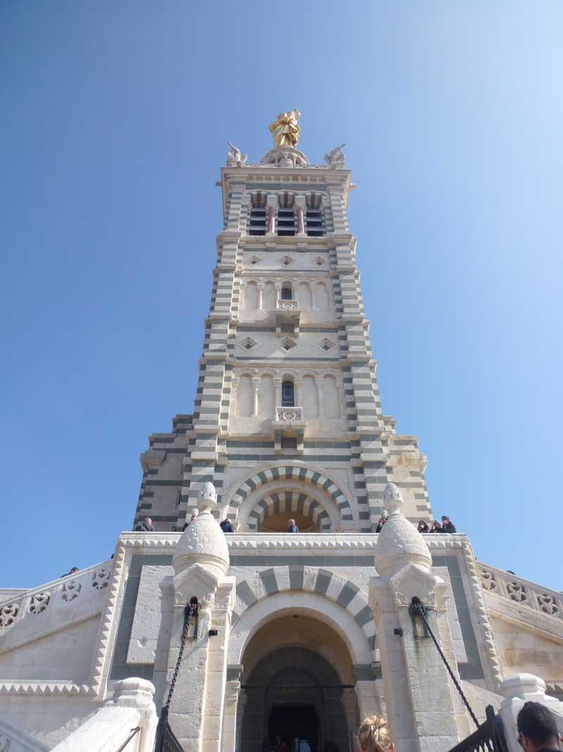 Turm der Kirche Notre Dame de la Garde