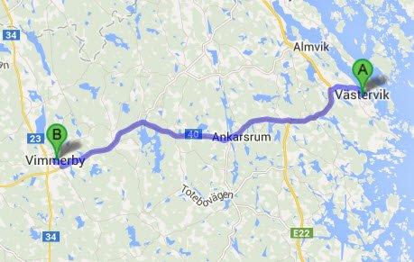 Västervik - Vimmerby