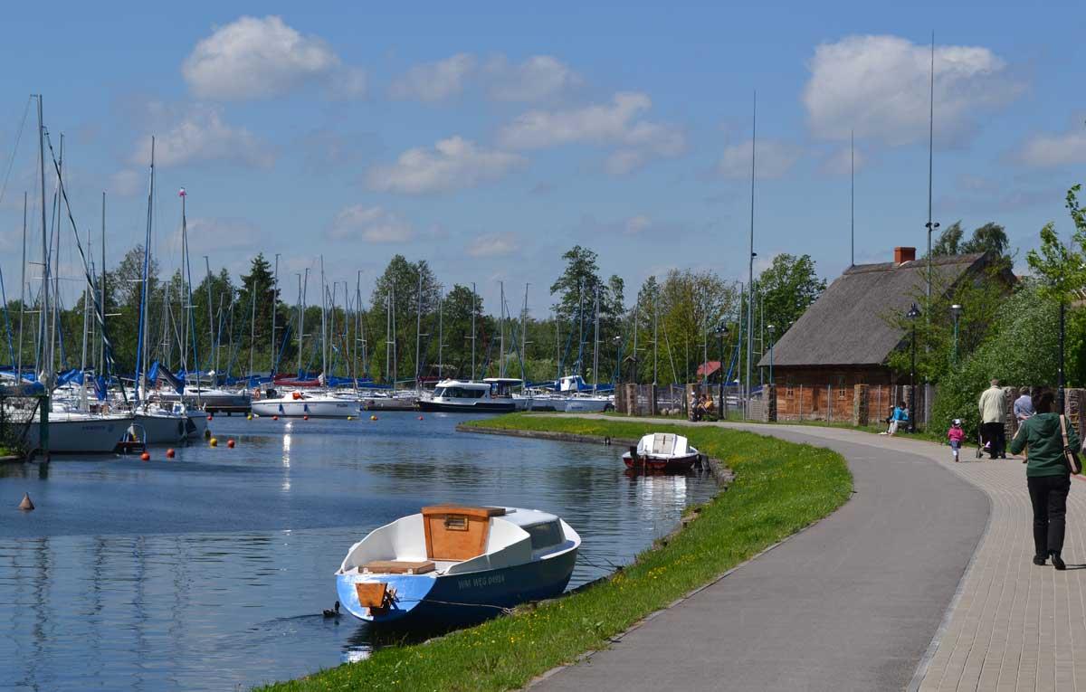 Yachthafen in Angerburg