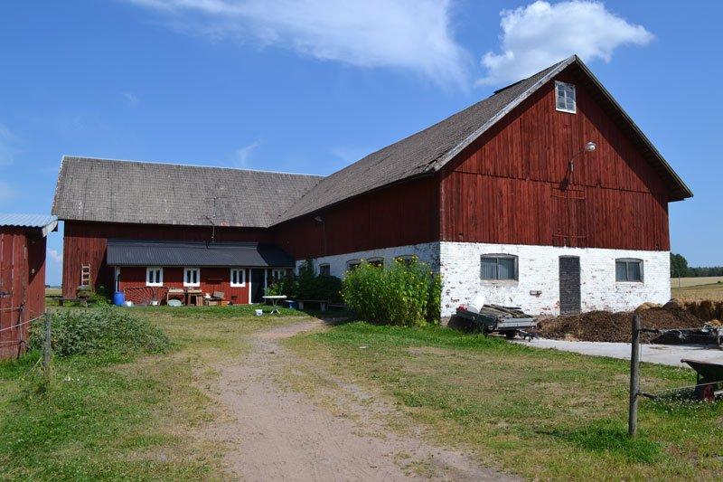 Der Habbe Hof in Mittelschweden zwischen Vänern- und Vätternsee