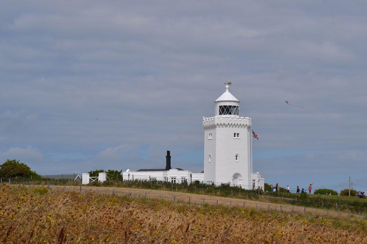 Der Langdon Leuchtturm (gehört auch zum National Trust)